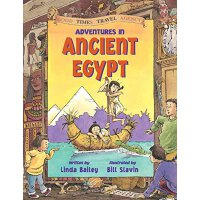 英文原版 Adventures in Ancient Egypt