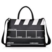 手提电脑包女单肩公文旅行袋防水大容量笔记本14寸15.6寸电脑背包