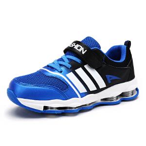 童鞋男童夏季新款2017韩版百搭网鞋夏透气儿童运动鞋镂空弹簧鞋子