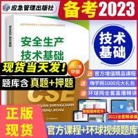 备考2021 注册安全工程师2020 安全生产技术基础教材 注安师 注册安全工程师2020全套教材 中级注册安全工程师2