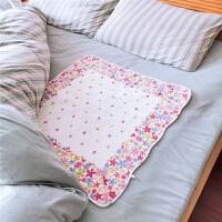 绗缝全棉姨妈垫绗缝婴儿隔尿垫大号月经垫生理期可水洗例假小薄被