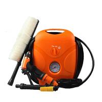 洗车器充气一体机自助汽车载点烟电动高压洗车机水泵12vSN7333