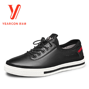 意尔康男鞋2017新款春季新款男士单鞋7412ZR97053W