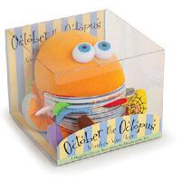 October the Octopus 英文原版 章鱼(幼儿学概念的玩具书)