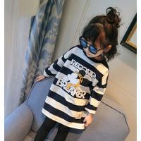 童装套装秋季新款女童儿童两件套春秋韩版套卫衣宝宝外套潮衣 白色 单件偏大一码