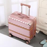 铝框拉杆箱18寸复古旅行箱16行李箱小型密码箱商务男女士潮登机箱