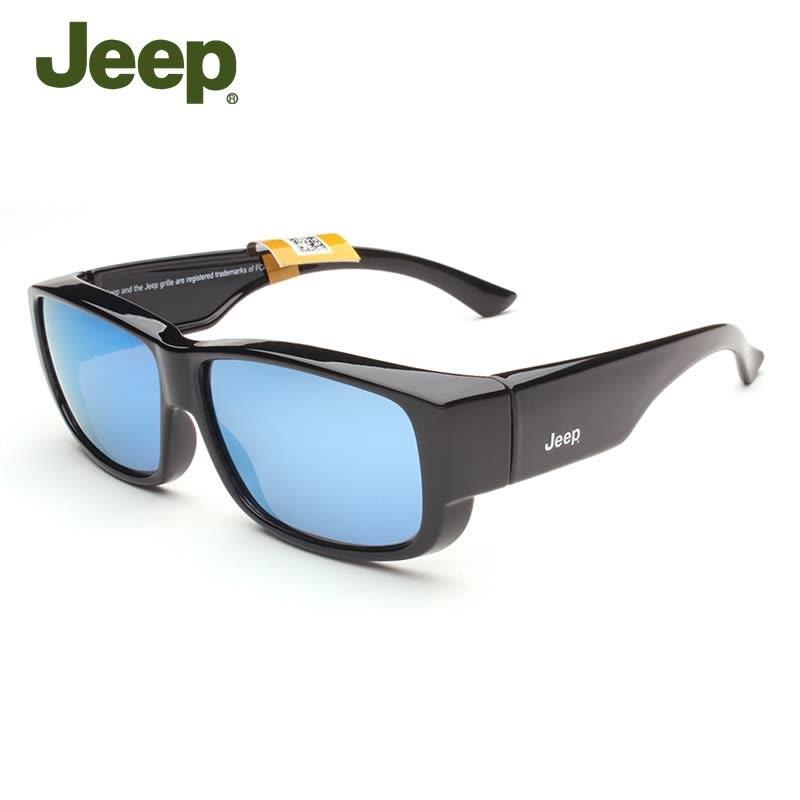 吉普偏光太阳镜近视眼镜专用套镜男士开车驾驶镜潮人墨镜7003 发货周期:一般在付款后2-90天左右发货,具体发货时间请以与客服协商的时间为准