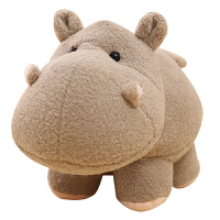 可爱河马大象公仔毛绒玩具陪睡布偶小号娃娃儿童婚庆礼品