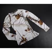 春秋女 户外迷彩弹力吸湿保暖速干功能性内衣秋衣
