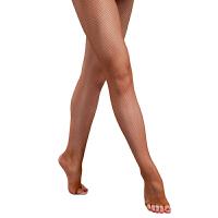 拉丁舞网袜露脚趾网袜加裤裆 拉丁舞服配饰表演比赛