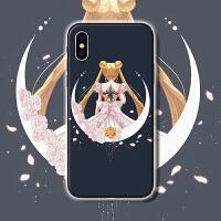 美少女战士动画水冰月iphone7p三星s9 oppo r11华为p10手机壳vivo