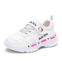 HELLO KITTY凯蒂猫童鞋女孩舒适跑步鞋