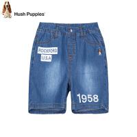 【3件3折券后预估价:78元】暇步士童装夏季新款男童短裤时尚简约舒适牛仔短裤儿童牛仔短裤