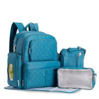大容量背包外出包母婴包 五件套简约妈咪包