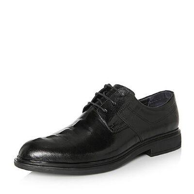 Belle/百丽2018春季新品专柜同款牛皮革男皮鞋5QP01AM8