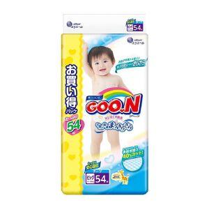 保税区直发 日本大王GOO.N维E系列纸尿裤 XL54