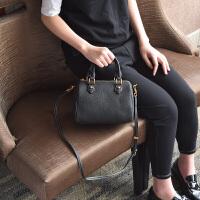 女包2018新款 秋冬休闲手提包包韩版波士顿包枕头包斜挎单肩包SN2649
