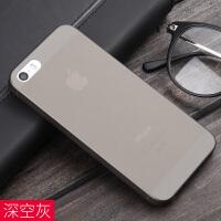 iPhone5s手机壳苹果se保护套5超薄磨砂硬壳简约全包防摔潮男ip5s女款5se硅胶半透明i5个