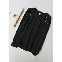 丹[N0-240]专柜品牌1298正品新款女士打底衫女装雪纺衫0.17KG