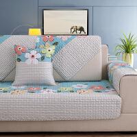 ???沙发坐垫四季通用现代简约布艺棉防滑组合套装客厅韩式田园沙发套