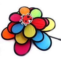 韩国户外野营三重彩虹昆虫风车感性民族风圣诞彩旗幼儿园庭院装饰 多种昆虫图案随机发货