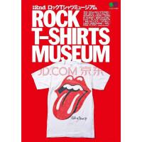 现货【深图日文】T恤博物馆 �e��2nd ROCK T-SHIRTS MUSEUM セカンド�集部 エイ出版社 画册图册