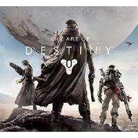 英文原版 《命运》游戏制作艺术 画册 The Art of Destiny