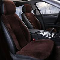 冬季纯羊毛皮毛一体汽车坐垫奥迪A6L宝马5系X3奔驰丰田短毛绒座垫