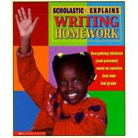 英文原版 Scholastic Explains Writing Homework: Everything Child