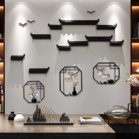 【优选】新中式墙壁装饰挂件玄关创意家居装饰客厅电视背景墙面3d立体壁挂