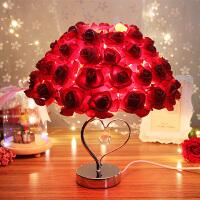 玫瑰花香薰台灯创意浪漫实用的女生日礼物结婚送女友闺蜜朋友情侣