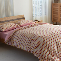 天竺棉四件套针织棉1.8全棉被套床单床罩1.2m床上三件套