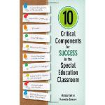 【预订】10 Critical Components for Success in the Special Educa