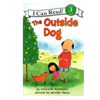 英文原版 The Outside Dog 门外的狗 [平装] [4-8岁]