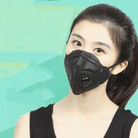 户外骑行时尚男女夏PM2.5口罩活性炭保暖透气全棉