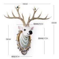 鹿头壁挂饰壁饰北欧创意客厅墙面墙上装饰品玄关墙壁立体墙饰挂件