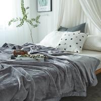 ???加厚法兰绒毛毯被子学生单人双人珊瑚绒床单空调毯子冬季