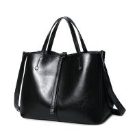时尚女包单肩购物袋手提包简单实用女士大包百搭潮流