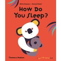 现货英文原版 How Do You Sleep 立体翻翻书 你怎么睡的? 3-6岁 学前兴趣英文童书 儿童科普启蒙读物