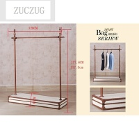 ZUCZUG专卖店服装展示架服装架落地式服装店衣架上墙女装店铁艺货架