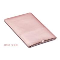 超�p薄微�surface Lap 2 13.5寸��X保�o套平板皮套�饶�包袋 鼠�丝� 玫瑰金1件
