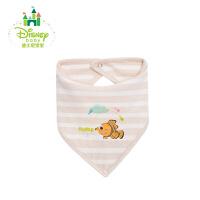 迪士尼Disney婴儿口水巾围嘴纯棉宝宝口水兜新生儿童围兜161P724