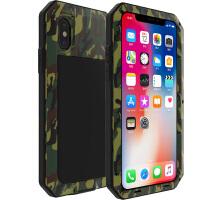 iPhone X保护硅胶套防摔全包苹果X手机壳三防边框金属包边5.8英寸