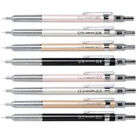 SAKURA日本樱花文具进口自动铅笔活动铅笔学生0.5/0.3MM金属自动笔不易断HB书写笔套装素描手绘漫画