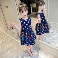 女童连衣裙夏装新款背心裙小女孩公主裙洋气童装夏季儿童裙子