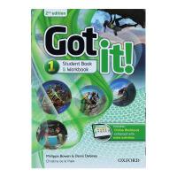 包邮 正版牛津初中英语教材Got it !1级别 学生书练习册(一体)+在线账号