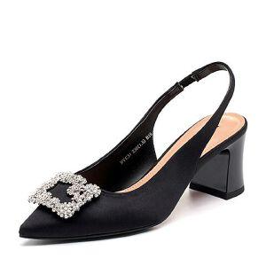 Belle/百丽2018春季新品专柜同款真丝布女凉鞋BYC31BH8