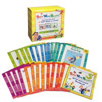 英文原版绘本 学乐高频词常见字25册套装 儿童英语学习家长指导读物 Scholastic Sight Word Rea