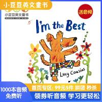 送音频 英文原版绘本 I'm the best 我最棒 小鼠波波同作者Lucy Cousins 轻松培养自信心 给孩子