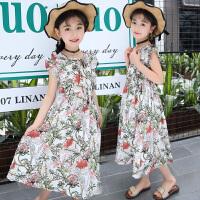 童装女童吊带连衣裙夏装新款韩版小女孩洋气儿童雪纺公主裙子